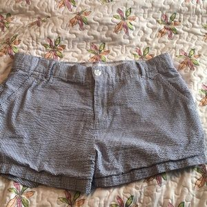 Lauren James Seersucker Shorts